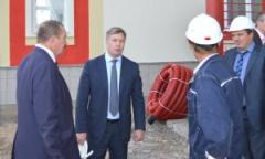 Алексей Русских проинспектировал строительство социальных объектов в Зарайском районе (17.09.2015)