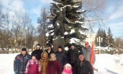 Коммунисты Ступино отметили 103-ю годовщину Советской Армии и Военно-Морского Флота (23.02.2021)