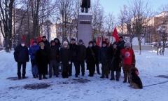 Реутовский ГК КПРФ отметил 23 февраля (23.02.2021)