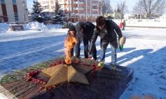 Коммунисты Ногинска отметили день Советской Армии (23.02.2021)