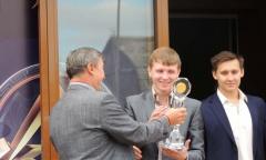 Константин Черемисов принял участие в открытие спортивного клуба (19.09.2015)