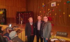 Сергиево-посадские коммунисты поздравили ветеранов Загорских Далей (02.10.2015)