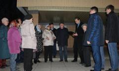 Депутаты-коммунисты проводят встречи-отчёты с домодедовцами (17.10.2015)