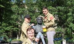 Комсомол чтит память отцов-основателей Советской авиации (08.06.2021)