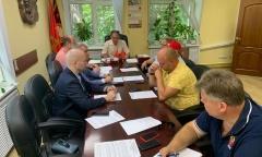Состоялось Бюро Московского областного отделения КПРФ (19.07.2021)