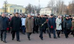 Встреча городов-побратимов России и Беларуси открылась в Подольске (27.11.2015)