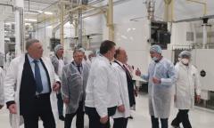 Делегация коммунистов, во главе с лидером КПРФ Г.А. Зюгановым, посетила Коломенский хлебокомбинат (01.09.2021)