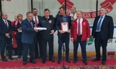 Руководитель фракции КПРФ в Госдуме Г.А. Зюганов посетил Ледовый дворец «Витязь» (01.09.2021)