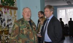 Алексей Русских встретился с воспитанниками военно-патриотического клуба «Воин» (05.12.2015)