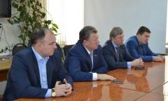 Владимир Кашин и Алексей Русских посетили Зарайский район (09.12.2015)