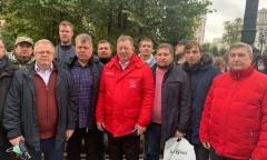 В Москве прошла встреча депутатов-коммунистов с избирателями (25.09.2021)