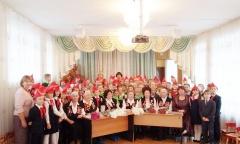 Встреча подольских школьников с Ветеранами педагогического труда города Подольска (18.12.2015)