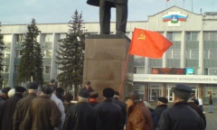 В Одинцово отметили 136 лет со дня рождения И.В. Сталина (21.12.2015)