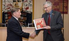 Медаль «За отвагу» вручена семье участника Великой отечественной войны (22.12.2015)