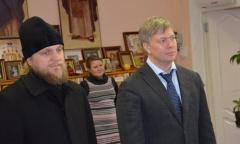 Алексей Русских поздравил воспитанников приюта «Покров» с Новым годом (24.12.2015)