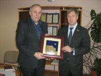 Алексей Русских посетил ведущие предприятия Егорьевска (13.01.2016)
