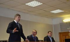 Алексей Русских посетил город Зарайск (03.02.2016)