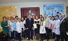 Алексей Русских посетил Егорьевское медицинское училище (05.02.2016)