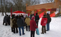 Митинг в Пушкино (06.02.2016)