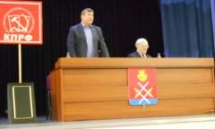 Константин Черемисов встретился с жителями Рузского района (06.02.2016)
