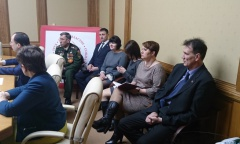 Константин Черемисов встретился с делегацией парламентариев ДНР (10.02.2016)