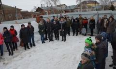 При поддержке Алексея Русских в Белоомуте открылся спортивно-православный клуб имени Александра Пересвета (06.03.2016)