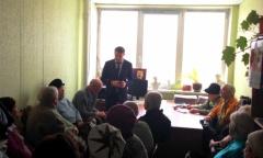 Дмитрий Кононенко встретился с «детьми войны» в г. Дмитрове (16.03.2016)