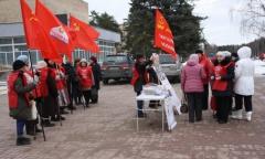 Пикет в Черноголовке (17.03.2016)