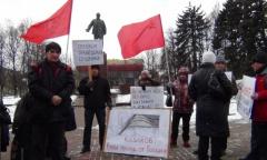 Пикет в Мытищах (19.03.2016)