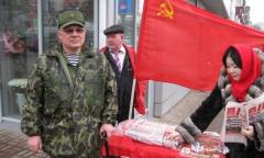 Пикеты в Люберцах (18.03.2016)