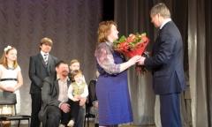 Алексей Русских поздравил «Детей войны» в Коломне (27.03.2016)