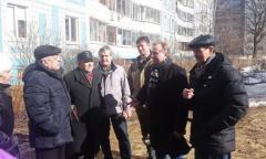 Коммунисты Сергиево-Посадской парторганизации провели ряд встреч с жителями Сергиева Посада (28.03.2016)