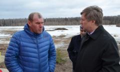Рабочий визит Алексея Русских в Луховицкий район (01.04.2016)