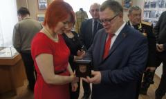 Открытие выставки «Чернобыль-черная пыль» в Бронницах (01.04.2016)