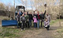 Субботник в Подольске (23.04.2016)