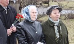Красноармейские коммунисты возложили цветы к памятнику В.И. Ленина (22.04.2016)
