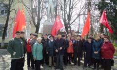 Митинг в Рузе (22.04.2016)