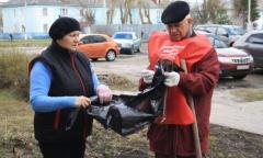 Субботник в Электрогорске (23.04.2016)