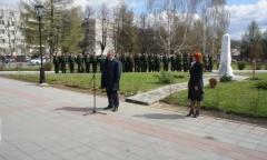 Бронницы: К 30-летию катастрофы на Чернобыльской АЭС (23.04.2016)
