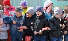 Алексей Русских принял участие в патриотической акции «Равнение на подвиг отцов и дедов» (24.04.2016)