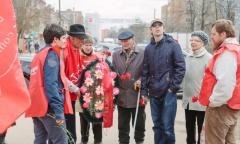 Пушкинские коммунисты отметили день рождения В.И. Ленина (22.04.2016)