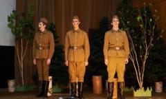 Чествование ветеранов Великой Отечественной войны в Загорских Далях (07.05.2016)