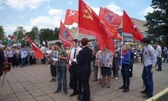 71-ую годовщину Победы отметили в Черноголовке (09.05.2016)