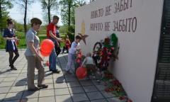 В Зарайском районе коммунисты встретили День победы автопробегом (08.05.2016)