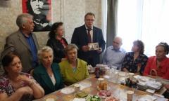 Александр Наумов поздравил поколение «Дети Войны» с днём Великой Победы (08.05.2016)