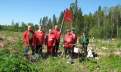 Акция по посадке леса в Можайском районе (14.05.2016)
