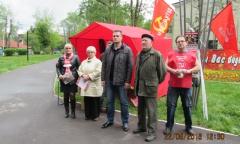 Пикет в Щелково (22.05.2016)