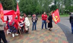 Пикет в Пушкино (22.05.2016)