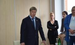 Алексей Русских посетил Воскресенский район (23.05.2016)