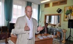 Рабочий визит Владимира Кашина в город Электросталь (01.06.2016)